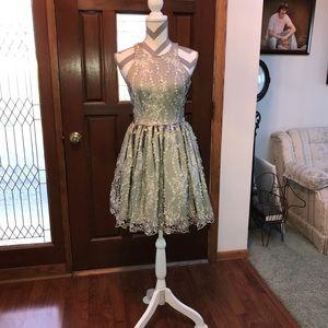 Razor Back Formal Dress